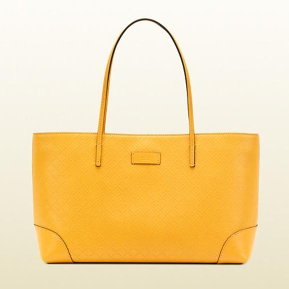 0986bea92ca0 gucci Bags   Yellow Diamante Tote   Poshmark